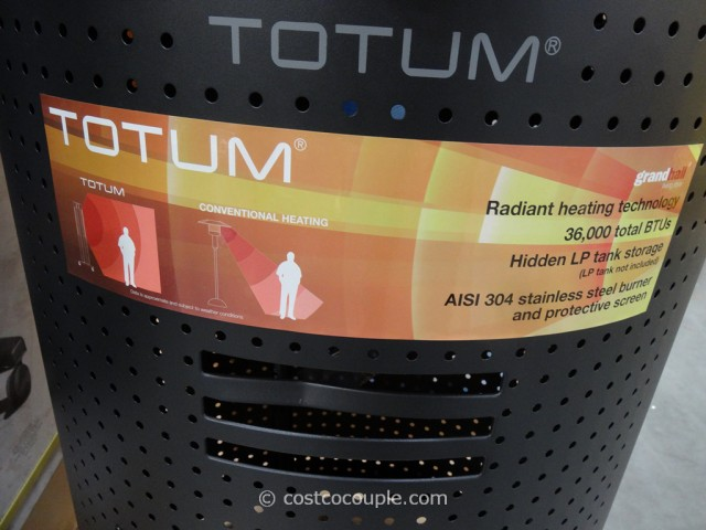 Totum Outdoor Patio Propane Heater Costco 6