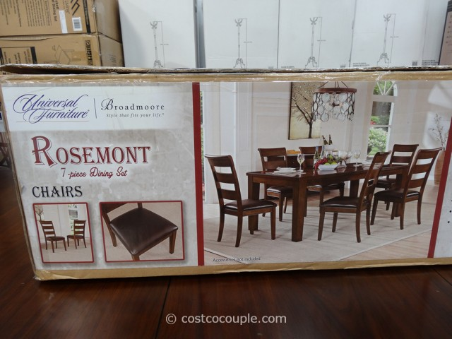 Universal Furniture Rosemont Dining Set Costco 6