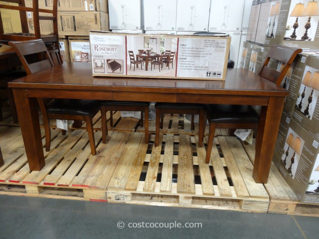 Universal Furniture Rosemont Dining Set Costco 7