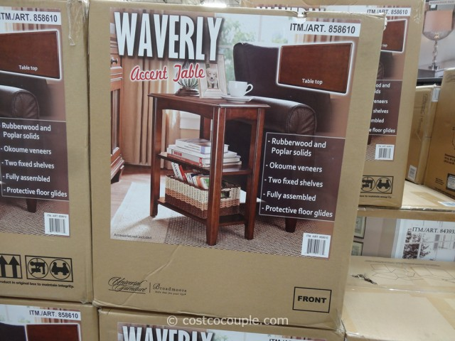 Universal Furniture Waverly Accent Wedge Table Costco 3