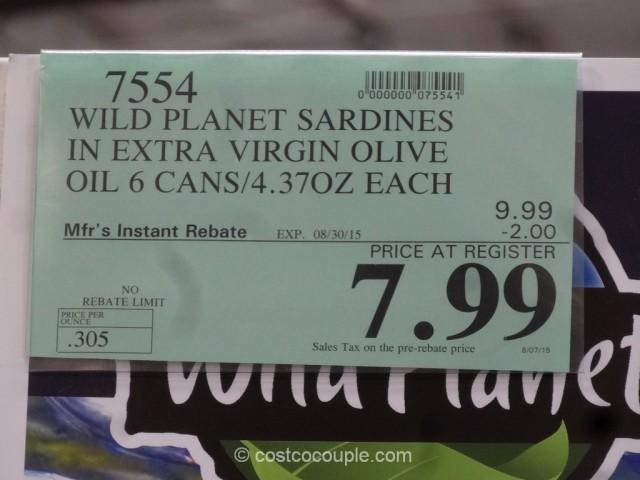 Wild Planet Sardines Costco 2