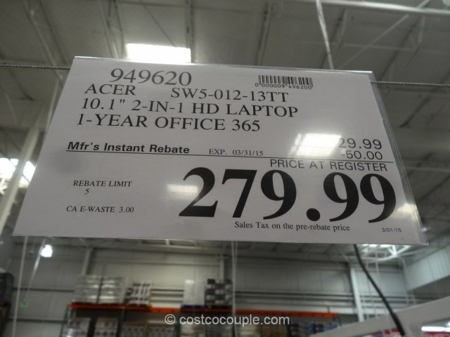 Acer Swith 10 Costco 1