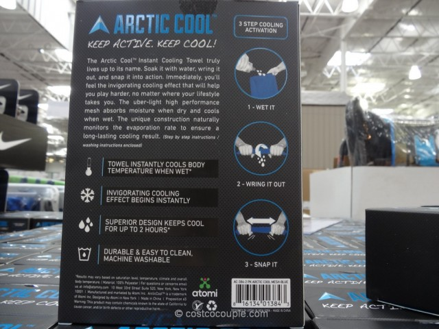 Artic Cool Cooling Towel Costco 5