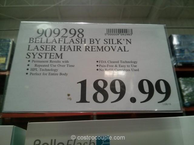 BellaFlash Laser Hair Removal System Costco 1