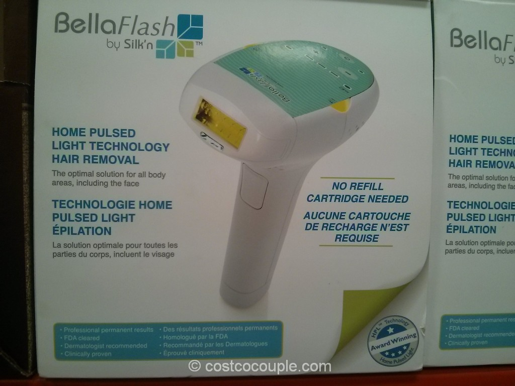 BellaFlash Laser Hair Removal System Costco 2