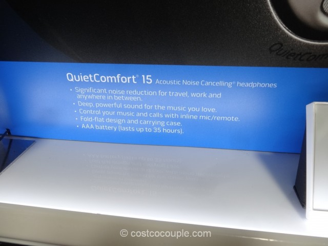 Bose Quiet Comfort 15 Costco 4