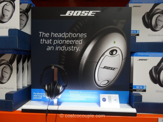 Bose Quiet Comfort 15 Costco 5