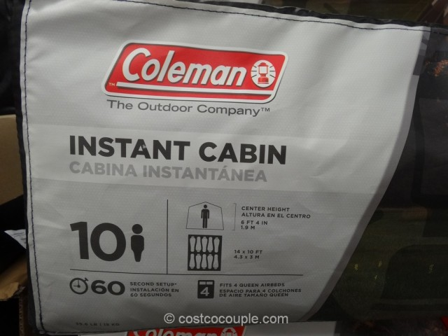 ... 6 Coleman 10-Person Instant Cabin Costco 4 ... : coleman 6 person instant tent costco - memphite.com