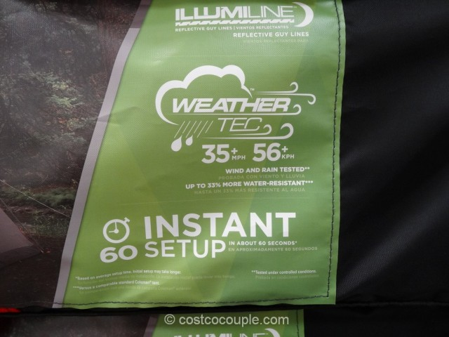 Coleman 5-Person Instant Dome Costco 5