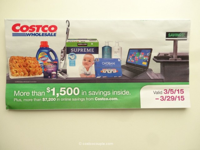 Costco March 2015 Coupon Book 1