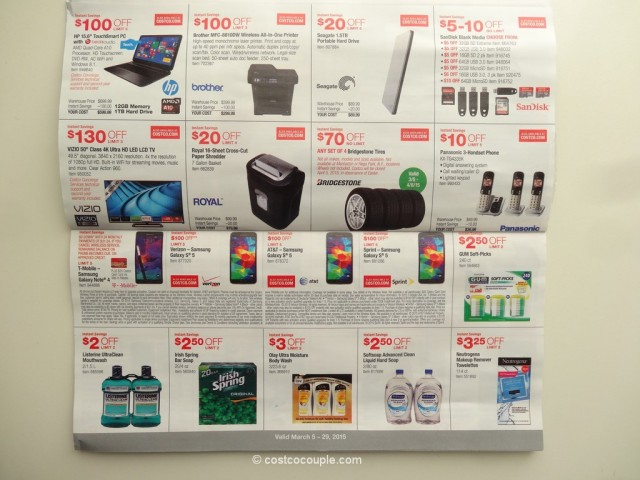 Costco March2015 Coupon Book 3