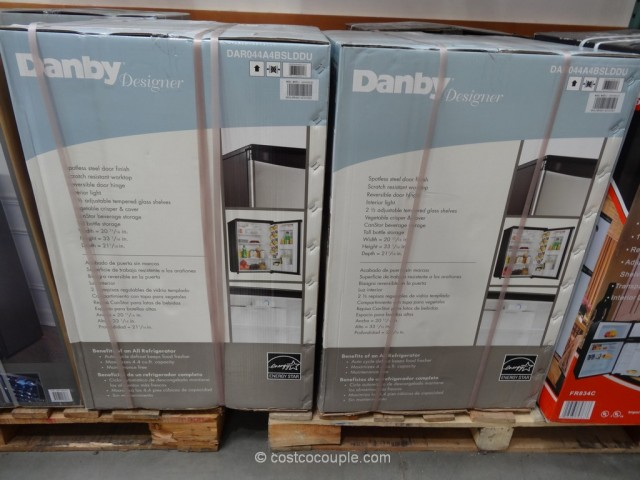 Danby Compact Refrigerator Model# DAR044A4BSLDDU Costco 3