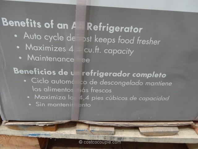 Danby Compact Refrigerator Model# DAR044A4BSLDDU Costco 5