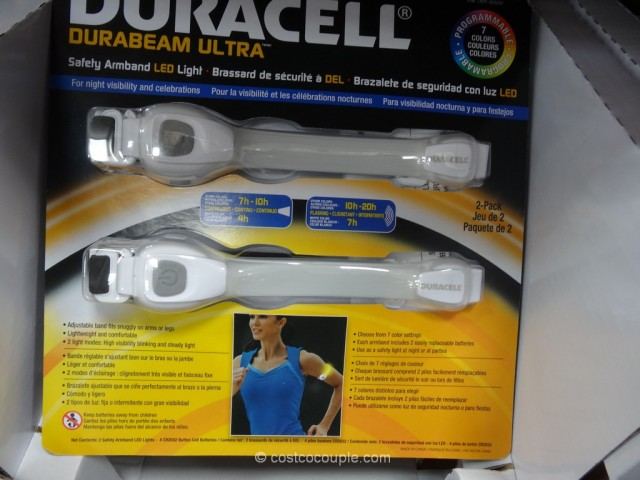 Duracell LED Safety Armband Costco 2