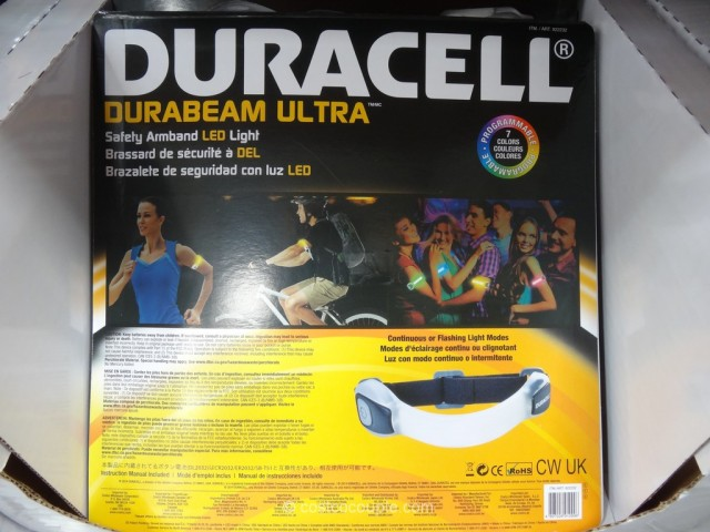 Duracell LED Safety Armband Costco 5
