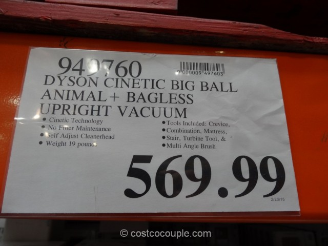 Dyson Cinetic Big Ball Animal Plus Costco 1