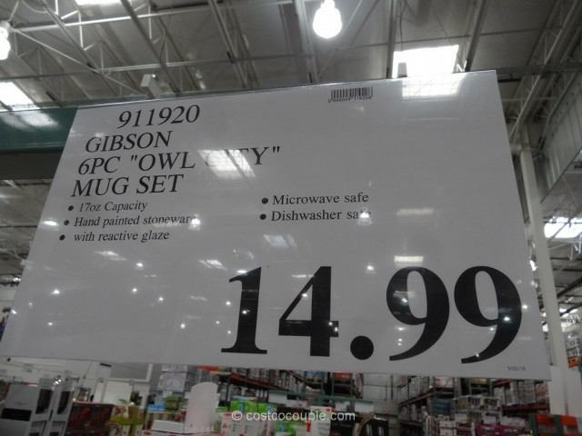 Gibson Owl City Mug Set Costco 1