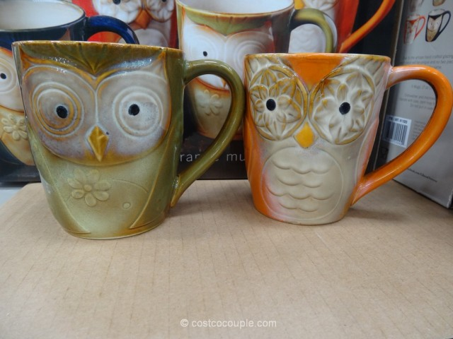 Gibson Owl City Mug Set Costco 2