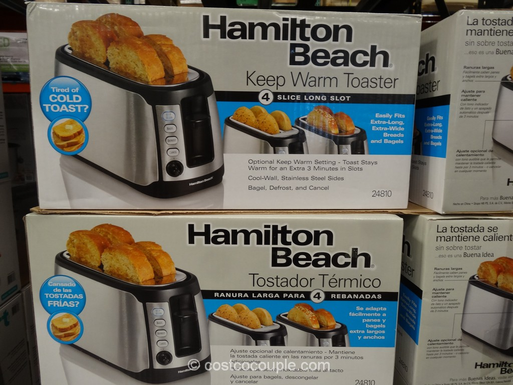 Hamilton Beach Keep Warm Toaster Costco 1