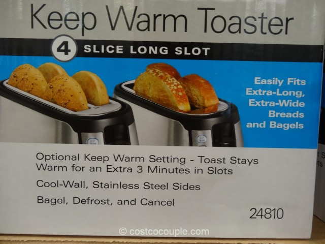Hamilton Beach Keep Warm Toaster Costco 2