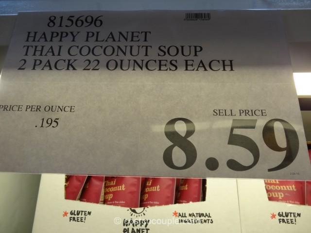 Happy Planet Thai Coconut Soup Costco 1