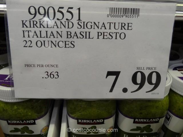 Kirkland  Signature Italian Basil Pesto Costco 1