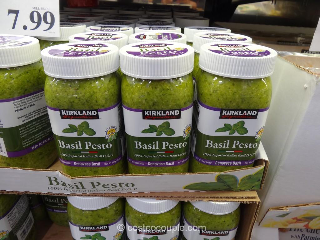 Kirkland  Signature Italian Basil Pesto Costco 2