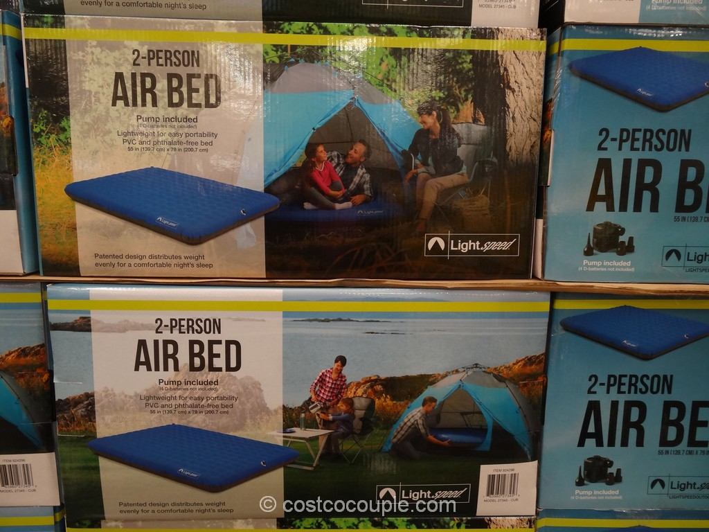 Lightspeed Outdoors 2-Person Air Bed Costco 2