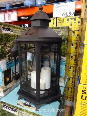 Manor House Solar Flickering Lantern Costco 2 ... & Manor House Solar Flickering Lantern azcodes.com