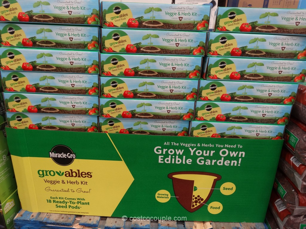 Miracle Gro Gro-Ables Seed Pods Costco 1