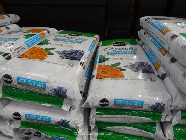 Miracle Gro Organic Moisture Control Potting Mix Costco 2