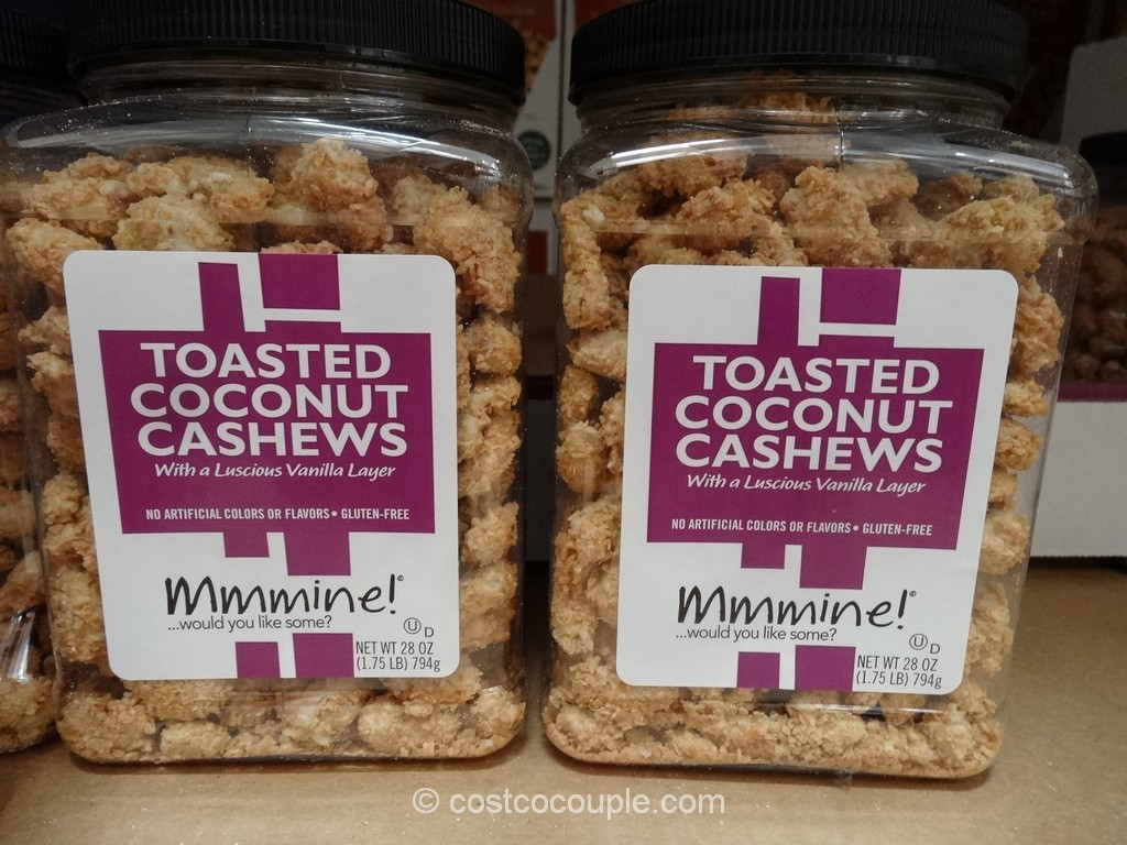 Mmmine Toasted Coconut Cashew Costco 3