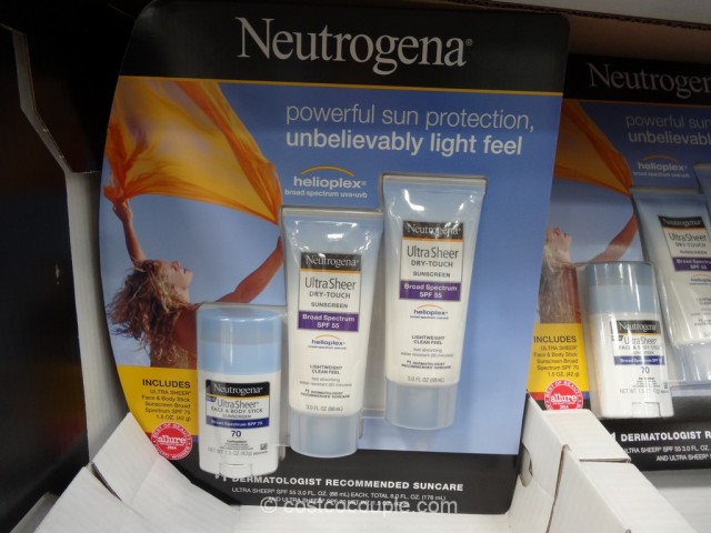 Neutrogena Ultra Sheer Touch Sunscreen Set Costco 1