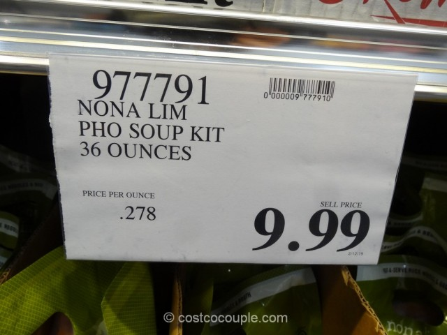 Nona Lim Vietnamese Pho Broth Kit Costco 1