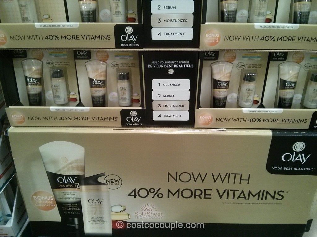 Olay Total Effects With Bonus Cleanser Costco 2