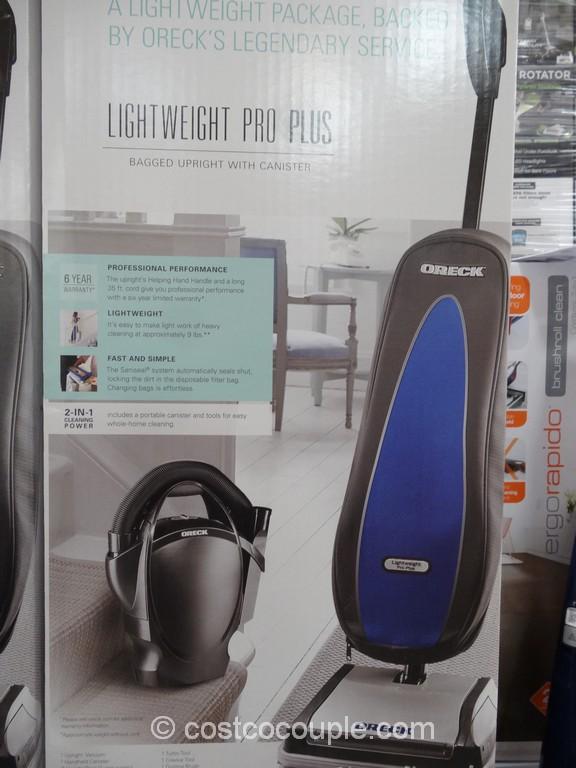 Oreck XL Lightweight Pro Plus Costco 3