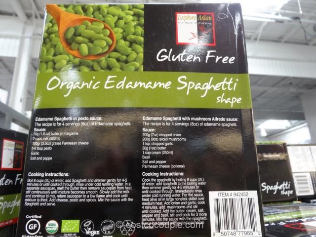 Organic Edamame Spaghetti Costco 3