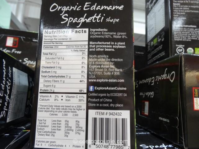 Organic Edamame Spaghetti Costco 4