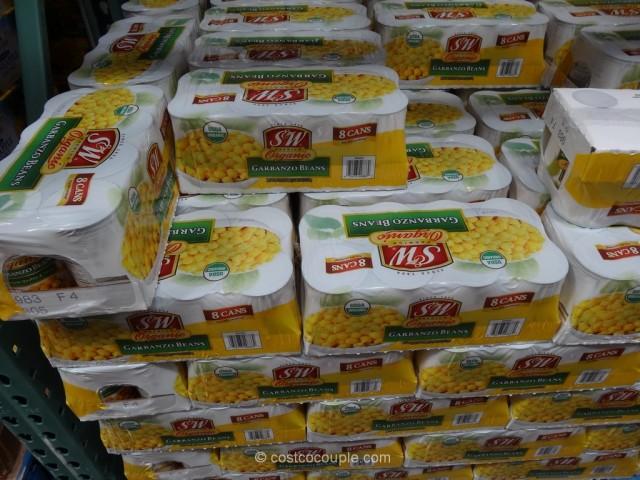 S & W Organic Garbanzo Beans Costco 2