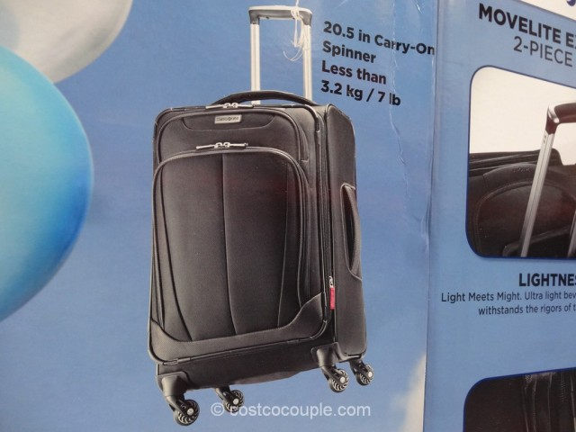 Samsonite MoveLite Extreme 2-Piece Set Costco 4