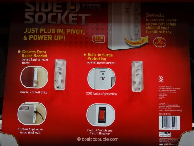 Side Socket Swivel Outlet Costco 3
