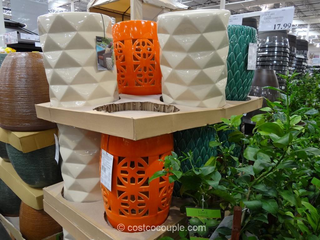 Style Craft Ceramic Accent Table Costco 2
