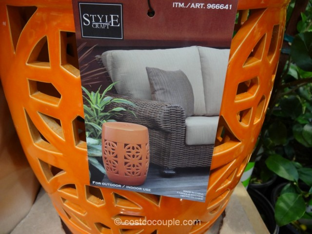 Style Craft Ceramic Accent Table Costco 3