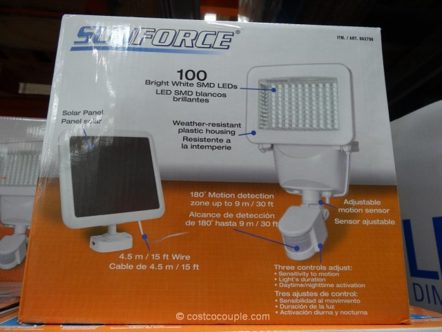 Sunforce Led Solar Motion Security Light