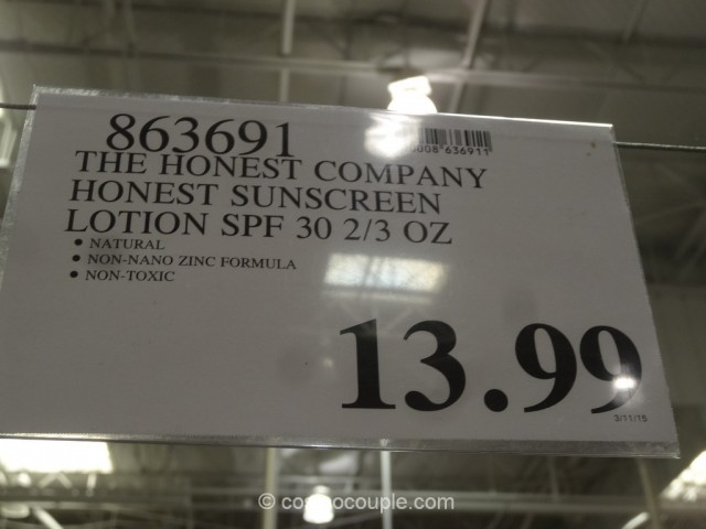 The Honest Company Honest SPF 30 Sunscreen Costco 1