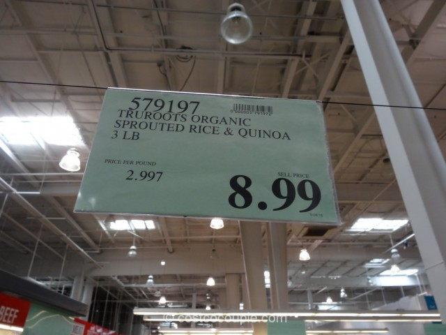 TruRoots Organic Sprouted Rice and Quinoa Blend Costco 1