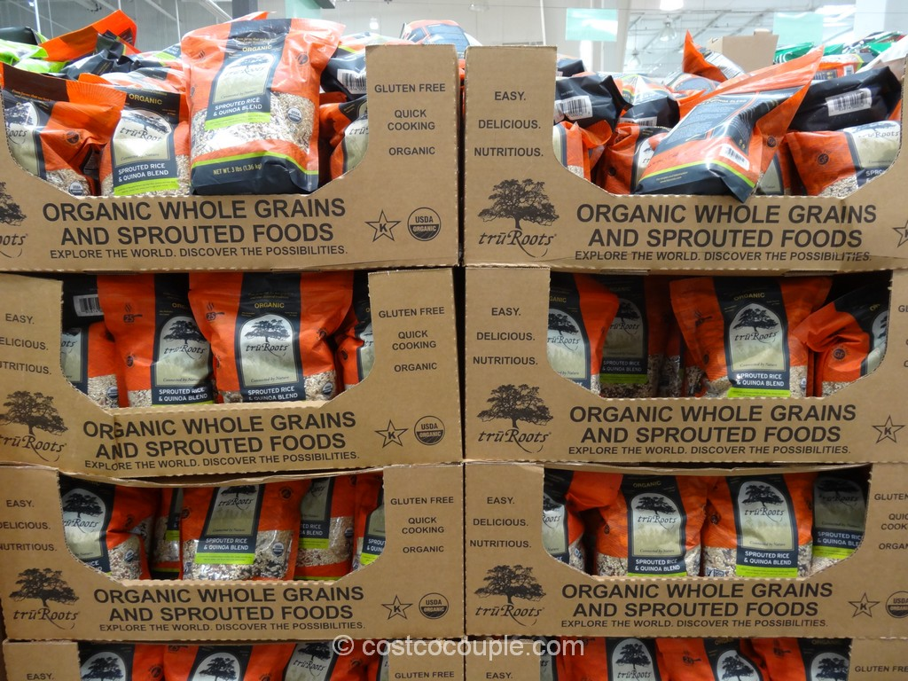 TruRoots Organic Sprouted Rice and Quinoa Blend Costco 2