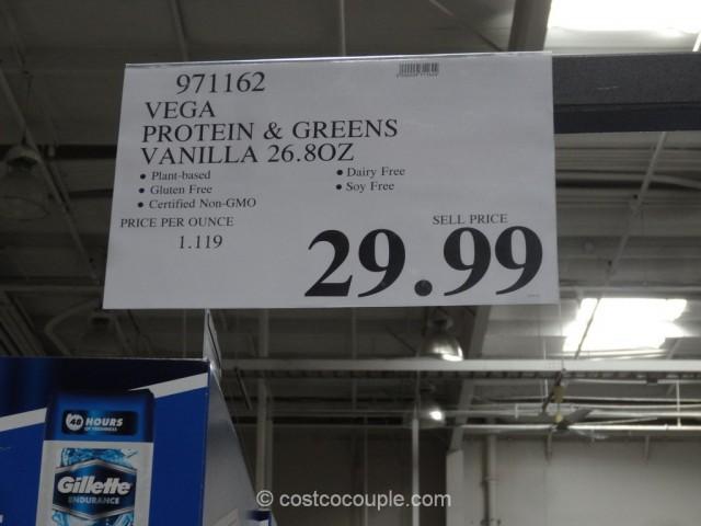 Vega Vanilla Protein And Greens Costco 1
