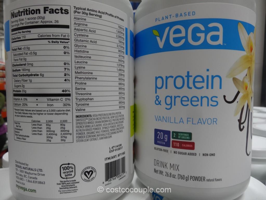 Vega Vanilla Protein And Greens Costco 2