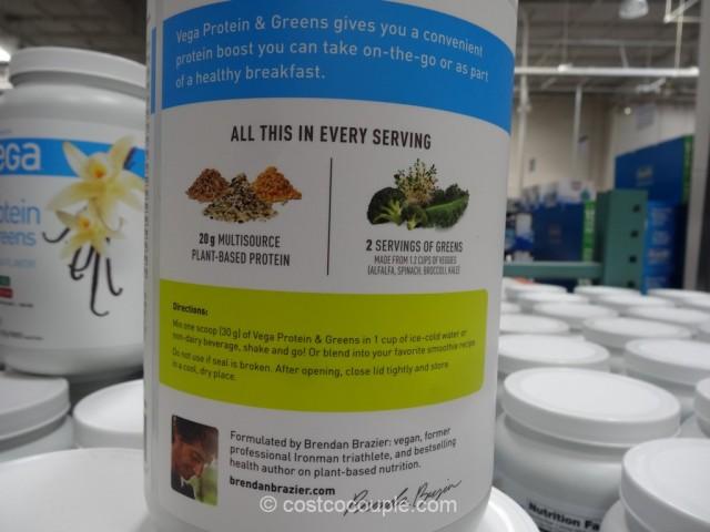Vega Vanilla Protein And Greens Costco 3